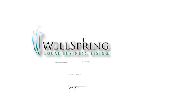Copy of WellSpring Success