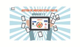 Gestión de Marketing Digital - Módulo 1 y 2