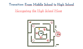 Copy of Transition: Navigating the High School Maze