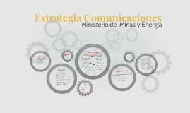 Estrategia Comunicaciones