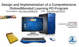 Design and Implementation of a Comprehensive Online/Blended