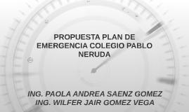 PROPUESTA PLAN DE EMERGENCIA