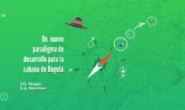Un  nuevo paradigma de desarrollo para la sabana de Bogota
