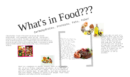 What's in Food???