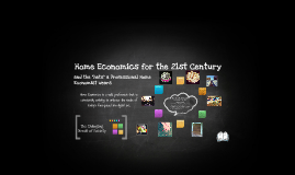 Home Economics for the 21st Century