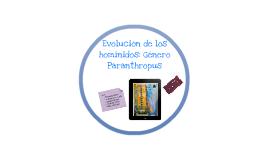 Copy of Evolución homínidos