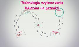 Copy of Technologia wytwarzania lakierów do paznokci