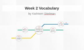 Week 2 Vocabulary