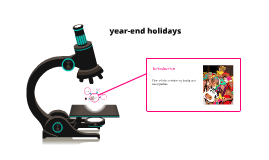 year-end holidays