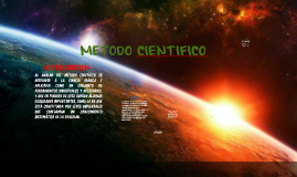 Copy of PREZI Metodo cientifico