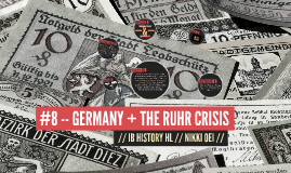 GERMANY + THE RUHR