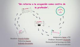 La ocupación como centro de la TO.