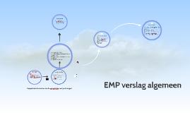 Copy of EMP verslag algemeen