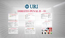 DIREITO PENAL II - D