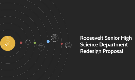 RSHS Science Redesign Proposal