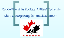 Concussions in Hockey: A Silent Epidemic