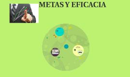 METAS Y EFICACIA