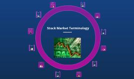 Stock Market Terminology