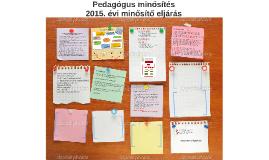 Copy of Copy of Pedagógus minősítés