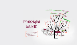 Copy of PROGRAM MUSIC