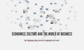 Copy of ECONOMICS, CULTURE AND THE WORLD OF BUSINESS