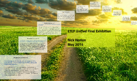 ETEP Unified Final Exhibition