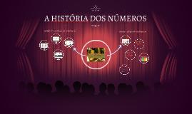A HISTÓRIA DOS NÚMEROS