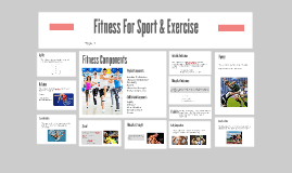 Fitness For Sport & Exercise