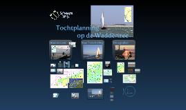 HISWA 2012 Tochtplanning Waddenzee