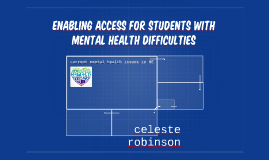 Enabling Access for students with mental health difficulties