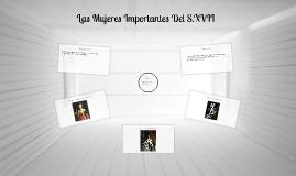 Las Mujeres Importantes Del S.XVII