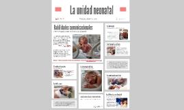 La unidad neonatal. Ansiedad de los padres. Actualización en atención al vínculo madre-bebe.