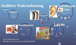 auditive Wahrnehmung