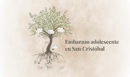 Embarazo adolescente en San Cristóbal