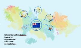 Cultural Coner New Zeland.