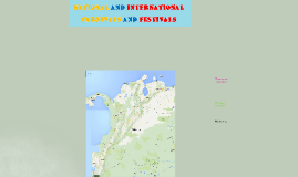 National and international carnivals and festivals