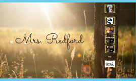Meet Mrs. Redford