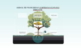 ARBOL DE PROBLEMAS COMERCIALIZADORA SENARTE.