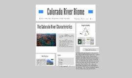 Colorado River Biome