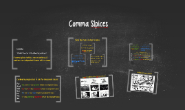 Coordinated Conjunctions and Comma Slpices