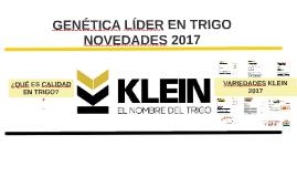 KLEIN - Novedades 2017 2S