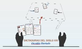 DICTADURAS DEL SIGLO XXI OSWALDO HURTADO