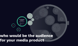 Copy of who would be the audience for your media product