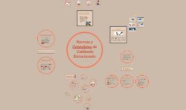 Copy of Normas y Estandares de Cableado Estructurado
