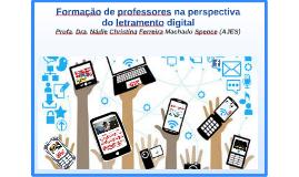 Formação de Professores na perspectiva do letramento digital