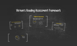 Copy of Vernon's Reading Assessment Framework