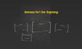 Animania - History of Animation