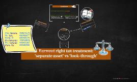 What is an earnout arrangement?