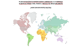 PLAN ESTRATÉGICO EXPORTADOR ELABORADO A LA EMPRESA PLÁSTICOS