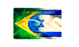 ISRAEL CIDADE SANTA DE TODAS AS NAÇÕES